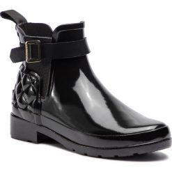 Kalosze HUNTER - Refined Gloss Quilt Chelsea WFS1032RGL  Black. Kozaki damskie marki Nike. W wyprzedaży za 419.00 zł.