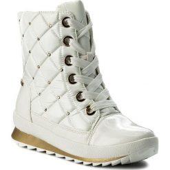 Śniegowce CAPRICE - 9-26204-29 White Comb 197. Białe kozaki damskie Caprice, ze skóry ekologicznej. W wyprzedaży za 269.00 zł.