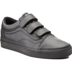 Półbuty VANS - Old Skool V VA3D29OOZ  (Mono Leather) Black. Czarne półbuty damskie Vans, z gumy. W wyprzedaży za 279.00 zł.