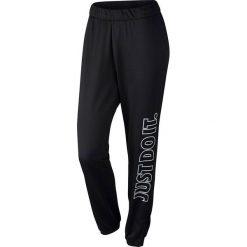 Nike Spodnie damskie W NK Dry Pant Just Do It czarne r. L (851882 063). Spodnie dresowe damskie marki bonprix. Za 136.02 zł.