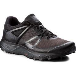 Buty SALOMON - Trailster 404877 31 W0  Phantom/Black/Magnet. Czarne buty sportowe męskie Salomon, z materiału. W wyprzedaży za 309.00 zł.