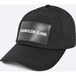 Calvin Klein Jeans - Czapka. Czarne czapki i kapelusze damskie Calvin Klein Jeans, z bawełny. Za 139.90 zł.