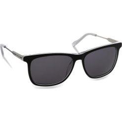 Okulary przeciwsłoneczne BOSS - 0229/S Bkwhtgry Pld LHK. Czarne okulary przeciwsłoneczne męskie Boss, z tworzywa sztucznego. W wyprzedaży za 459.00 zł.