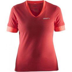 Craft Koszulka Rowerowa Escape W Red M. Czerwone koszulki sportowe damskie Craft, z bawełny, z krótkim rękawem. W wyprzedaży za 149.00 zł.