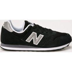 New Balance - Buty. Czarne buty sportowe męskie New Balance, z materiału. W wyprzedaży za 242.91 zł.