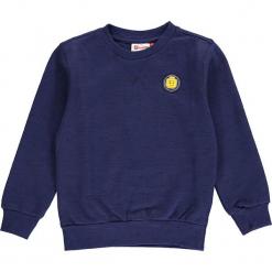 """Bluza """"Sebastian 712"""" w kolorze granatowym. Niebieskie bluzy dla chłopców marki Lego Wear Fashion, z aplikacjami, prążkowane. W wyprzedaży za 82.95 zł."""