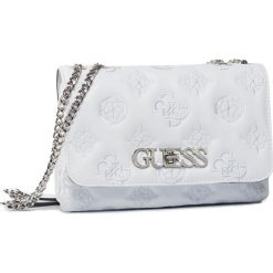 Białe torebki do ręki damskie Guess Kolekcja zima 2020