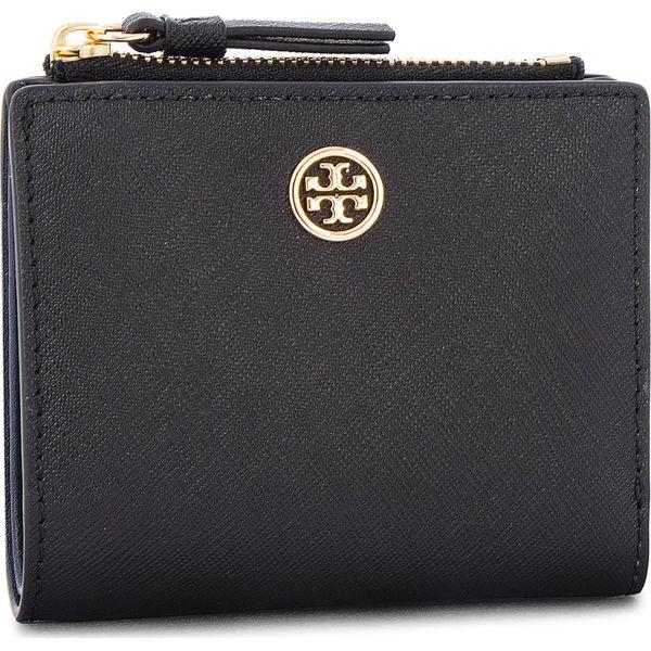 bec587ec67b01 Mały Portfel Damski TORY BURCH - Robinson Mini Wallet 47124 Black ...