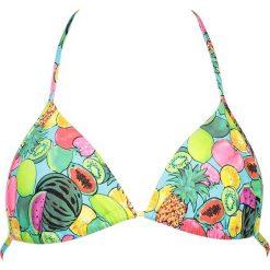 """Biustonosz bikini """"Juicy"""" z kolorowym wzorem. Bikini damskie Lisca, w kolorowe wzory. W wyprzedaży za 25.95 zł."""
