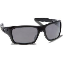 Okulary przeciwsłoneczne OAKLEY - Turbine OO9263-4163 Polished Black/Prizm Black Polarized. Czarne okulary przeciwsłoneczne męskie Oakley, z tworzywa sztucznego. W wyprzedaży za 719.00 zł.