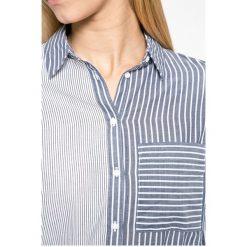 Tally Weijl - Koszula. Szare koszule damskie TALLY WEIJL, w paski, z bawełny, casualowe, z klasycznym kołnierzykiem, z długim rękawem. W wyprzedaży za 69.90 zł.