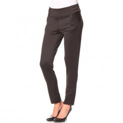 """Spodnie """"Scap"""" w kolorze czarnym. Czarne spodnie materiałowe damskie Assuili. W wyprzedaży za 90.95 zł."""
