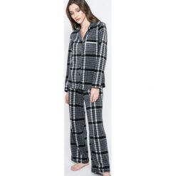 Dkny - Piżama. Szare piżamy damskie DKNY, z dzianiny. W wyprzedaży za 229.90 zł.