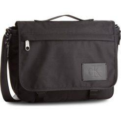 Torba na laptopa CALVIN KLEIN JEANS - Sport Essential Messenger K40K400155 910. Czarne torby na laptopa damskie Calvin Klein Jeans, z jeansu. W wyprzedaży za 349.00 zł.