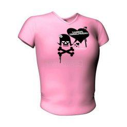GamersWear GAMERS GIRLFRIEND Top różowa (L) ( 5991-L ). T-shirty i topy dla dziewczynek marki bonprix. Za 84.87 zł.