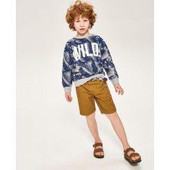 Bluza z tropikalnym motywem - Jasny szar. Bluzy dla chłopców Reserved. W wyprzedaży za 14.99 zł.