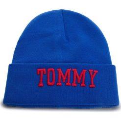 Czapka TOMMY JEANS - Tjw Varsity Beanie AW0AW05987 435. Niebieskie czapki i kapelusze damskie Tommy Jeans, z bawełny. Za 229.00 zł.