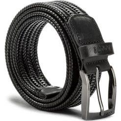 Pasek Męski JOOP! - 7216 100 Black A01. Czarne paski damskie JOOP!, w paski, ze skóry. W wyprzedaży za 299.00 zł.