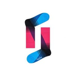 Skarpetki Happy Socks  EIG01-9000. Niebieskie skarpety męskie Happy Socks, z bawełny. Za 24.43 zł.
