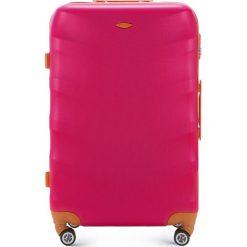 Walizka duża 56-3A-233-33. Brązowe walizki damskie Wittchen, z gumy. Za 299.00 zł.