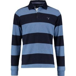 GANT THE ORIGINAL BARSTRIPE HEAVY RUGGER Koszulka polo denim blue melange. Bluzki z długim rękawem męskie GANT, z bawełny, z długim rękawem. Za 419.00 zł.