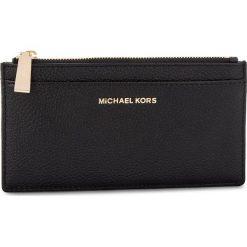 Duży Portfel Damski MICHAEL MICHAEL KORS - Money Pieces 32S8GF6D7L BLACK. Czarne portfele damskie MICHAEL Michael Kors, ze skóry. Za 369.00 zł.