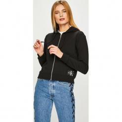 Calvin Klein Jeans - Bluza. Szare bluzy damskie Calvin Klein Jeans, z bawełny. Za 449.90 zł.