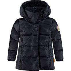 Kurtka puchowa w kolorze granatowym. Niebieskie kurtki i płaszcze dla chłopców Steiff, z dżerseju. W wyprzedaży za 172.95 zł.