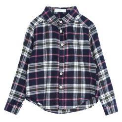 Granatowa Koszula Fairness. Niebieskie bluzki dla dziewczynek Born2be. Za 59.99 zł.