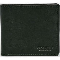 Pepe Jeans - Portfel skórzany. Czarne portfele męskie Pepe Jeans, z jeansu. Za 179.90 zł.