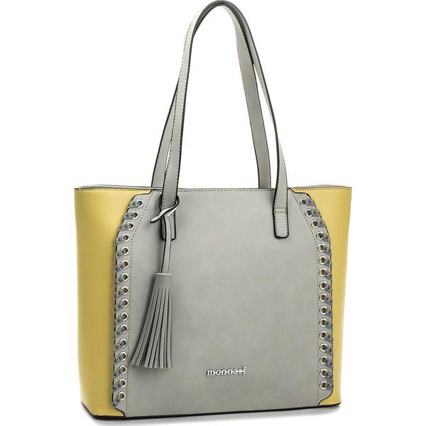 67434acdd2d3b Torebka MONNARI - BAG5190-019 Grey - Szare torebki do ręki damskie ...