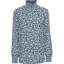Tunika z nadrukiem, długi rękaw bonprix ciemnoniebieski z nadrukiem. Niebieskie tuniki damskie bonprix, z nadrukiem, z długim rękawem. Za 89.99 zł.