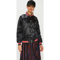 Calvin Klein Jeans - Kurtka. Czarne kurtki damskie Calvin Klein Jeans, z jeansu. Za 699.90 zł.
