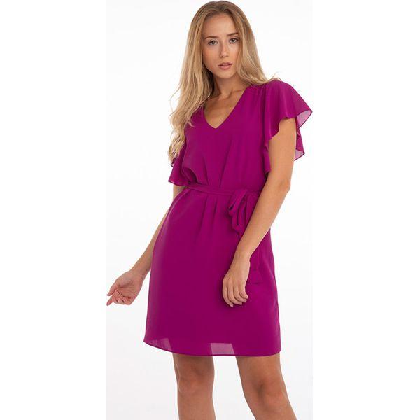 dafbb2f088 Sukienka w kolorze fuksji - Czerwone sukienki damskie marki Jimmy ...