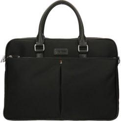 Aktówka. Czarne torby na laptopa damskie Gino Rossi, z tworzywa sztucznego. W wyprzedaży za 299.94 zł.