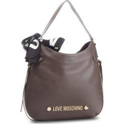 Torebka LOVE MOSCHINO - JC4311PP06KU0001 Taupe. Brązowe torebki do ręki damskie Love Moschino, ze skóry ekologicznej. Za 879.00 zł.