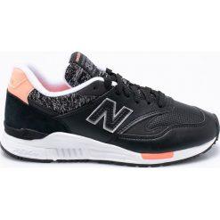 New Balance - Buty WL840WB. Czarne obuwie sportowe damskie New Balance, z gumy. W wyprzedaży za 299.90 zł.