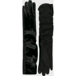 Answear - Rękawiczki. Czarne rękawiczki damskie ANSWEAR. W wyprzedaży za 48.90 zł.
