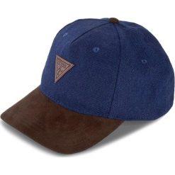 Czapka z daszkiem GUESS - AM6622 POL01 BLU. Szare czapki i kapelusze męskie marki Giacomo Conti, na zimę, z tkaniny. W wyprzedaży za 119.00 zł.