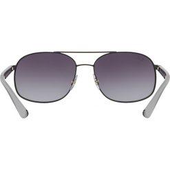 Ray-Ban - Okulary. Brązowe okulary przeciwsłoneczne męskie Ray-Ban, z materiału. Za 549.90 zł.