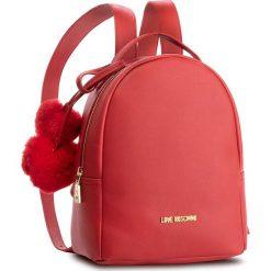 Plecak LOVE MOSCHINO - JC4323PP06KW0500  Rosso. Czerwone plecaki damskie Love Moschino, ze skóry ekologicznej, eleganckie. Za 719.00 zł.