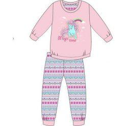 Piżama Kids Girl 594/91 Magic Time różowa r. 92. Czerwone bielizna dla dziewczynek Cornette. Za 49.87 zł.