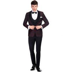 Garnitur ślubny LIVIO GAAS000098. Czarne garnitury męskie Giacomo Conti, paisley, z wełny. Za 2,199.00 zł.