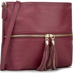 Torebka CREOLE - K10198 Bordowy. Czerwone torebki do ręki damskie Creole, ze skóry. W wyprzedaży za 169.00 zł.