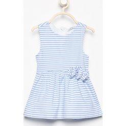 Bawełniana sukienka bez rękawów - Biały. Sukienki niemowlęce marki Reserved. W wyprzedaży za 19.99 zł.