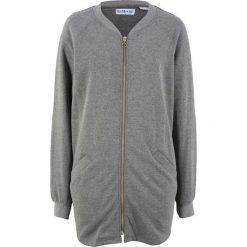 Bluza rozpinana, długi rękaw, z kolekcji Maite Kelly bonprix szary melanż. Bluzy damskie marki KALENJI. Za 59.99 zł.
