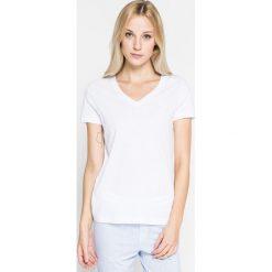 Lauren Ralph Lauren - Top piżamowy. Szare piżamy damskie Lauren Ralph Lauren, z bawełny. W wyprzedaży za 169.90 zł.