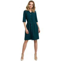 Made Of Emotion Sukienka Damska M Zielony. Zielone sukienki damskie Made Of Emotion, na lato, z materiału. Za 269.00 zł.