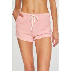 Undiz - Szorty piżamowe Bluvetiz. Różowe piżamy damskie Undiz, z bawełny. W wyprzedaży za 39.90 zł.