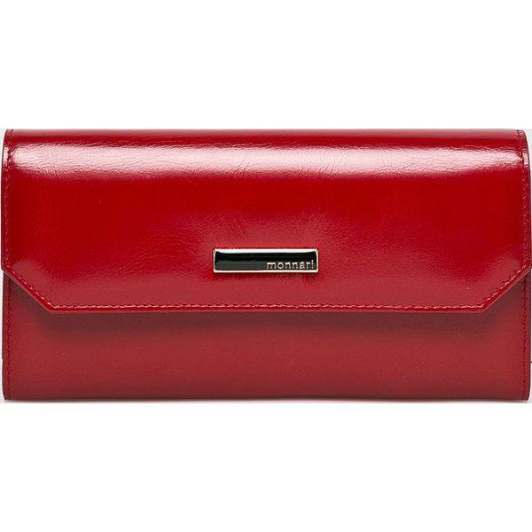 76595ab80d1e5 Monnari - Portfel skórzany - Czerwone portfele damskie marki Monnari ...